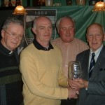 Presentation to Leo Burns from Gerry Nixon