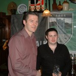 junior 2 Player of the Year David Bailey