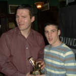U15 Player of the Year - Robbie Agnew