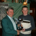 "U16 ""A"" Second Comp presented to Peter Nixon"