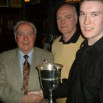 U18 B Championship presented to Shane O'Connell