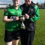 Cathal Hamilton with his father Pat